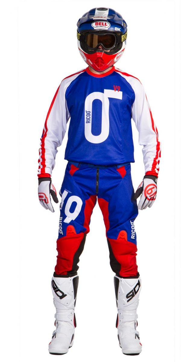 completo-motocross-blu-rosso-fronte