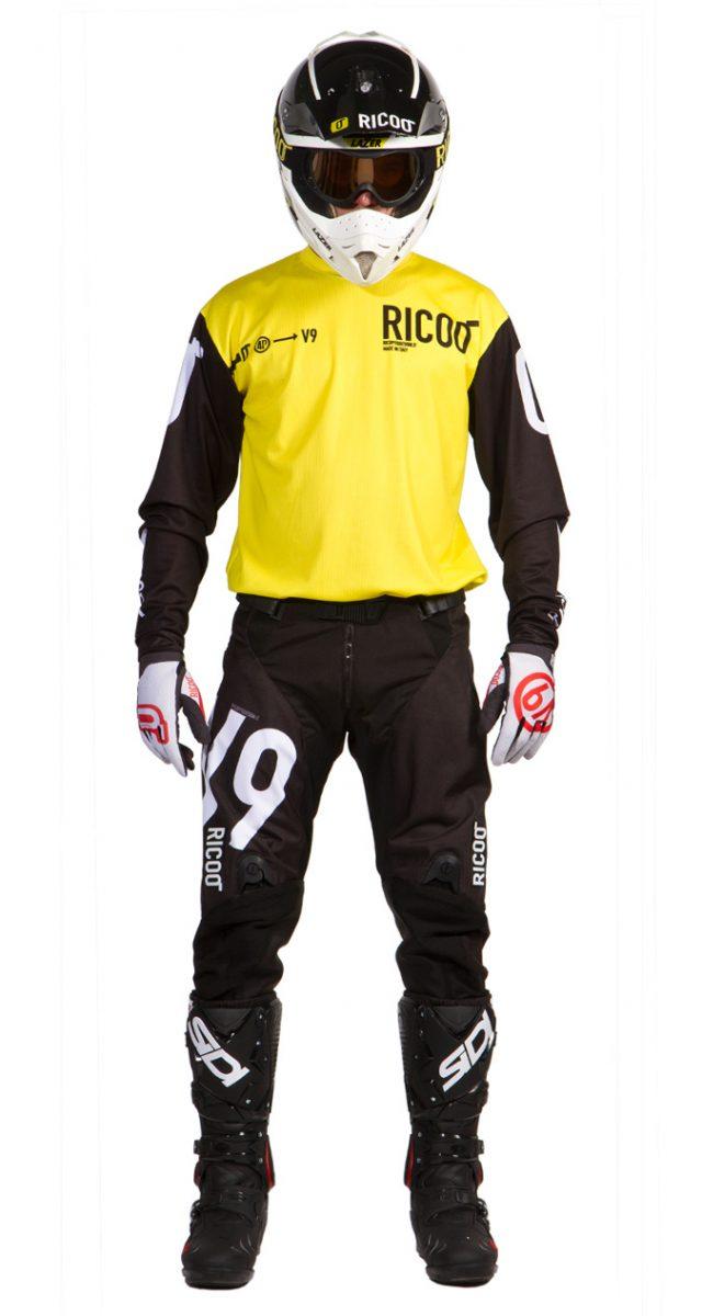 completo-motocrosso-nero-giallo-fronte