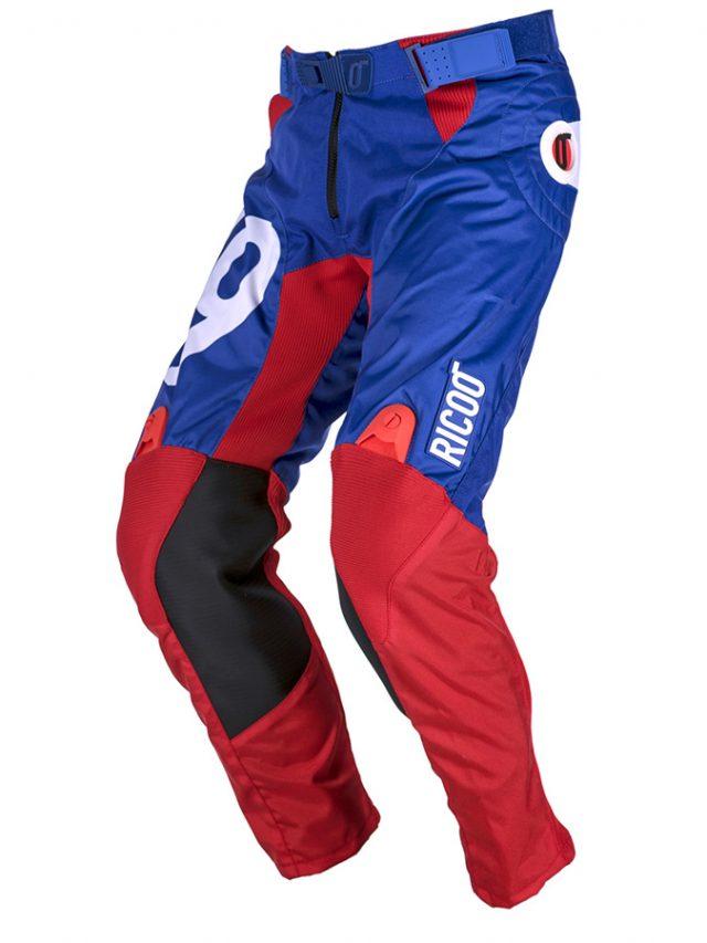 pantaloni-motocross-v9-blu-rossi-fronte